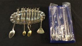 Lot of Assorted Silver Collectibles