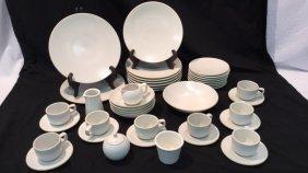 Sasaki Stoneware Colorstone Matte White Dishes