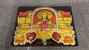 1970 Fillmore West Bill Graham Poster