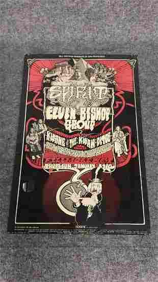 1960's Rock n Roll Concert Poster