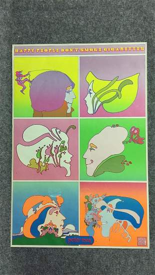 Psychedelic Peter Max Rock Era Poster