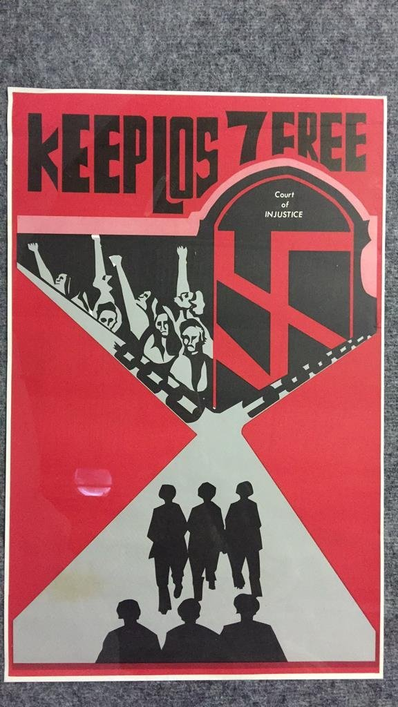 1970's Keep Los 7 Free San Francisco Poster