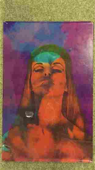1967 Wallace Berman Female Psychedelic Poster