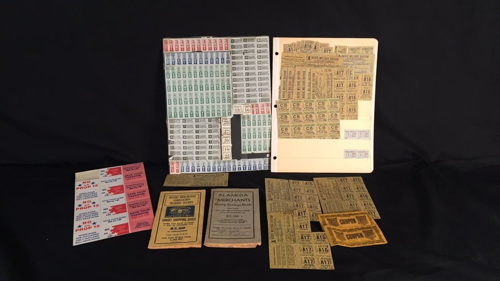 Lot of WW2 War Rations