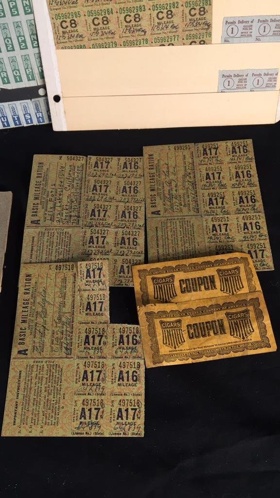 Lot of WW2 War Rations - 3