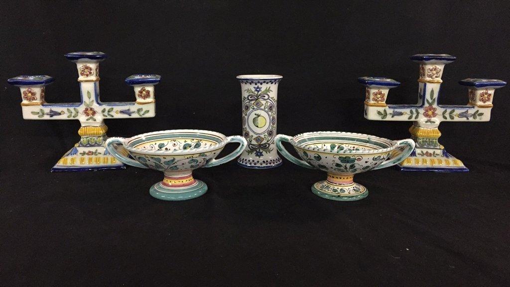 Portuguese and Italian Ceramics