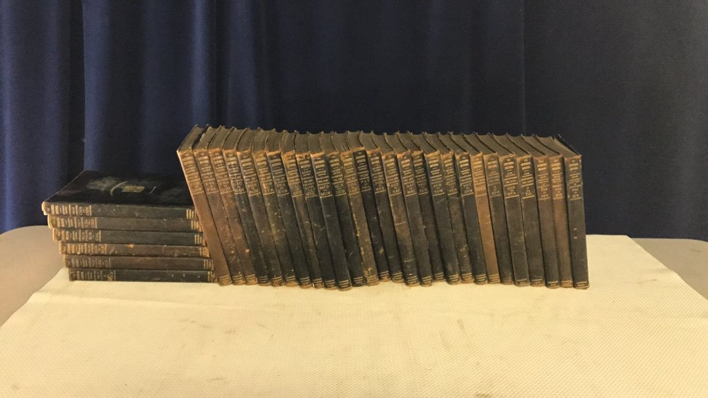 Encyclopedia Britannica set circa 1910