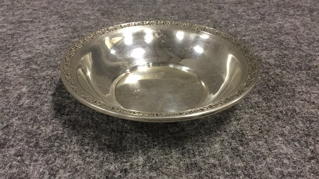 Sterling Silver Dish & Silver Cup - 2