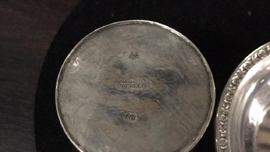 Sterling Silver Dish & Silver Cup - 6