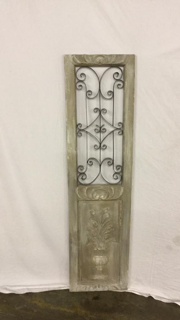 Decorative door panel