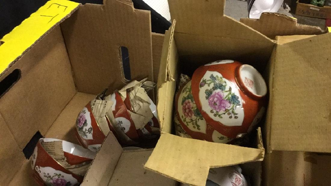 Large Lot of Asian dishes and vases - 5