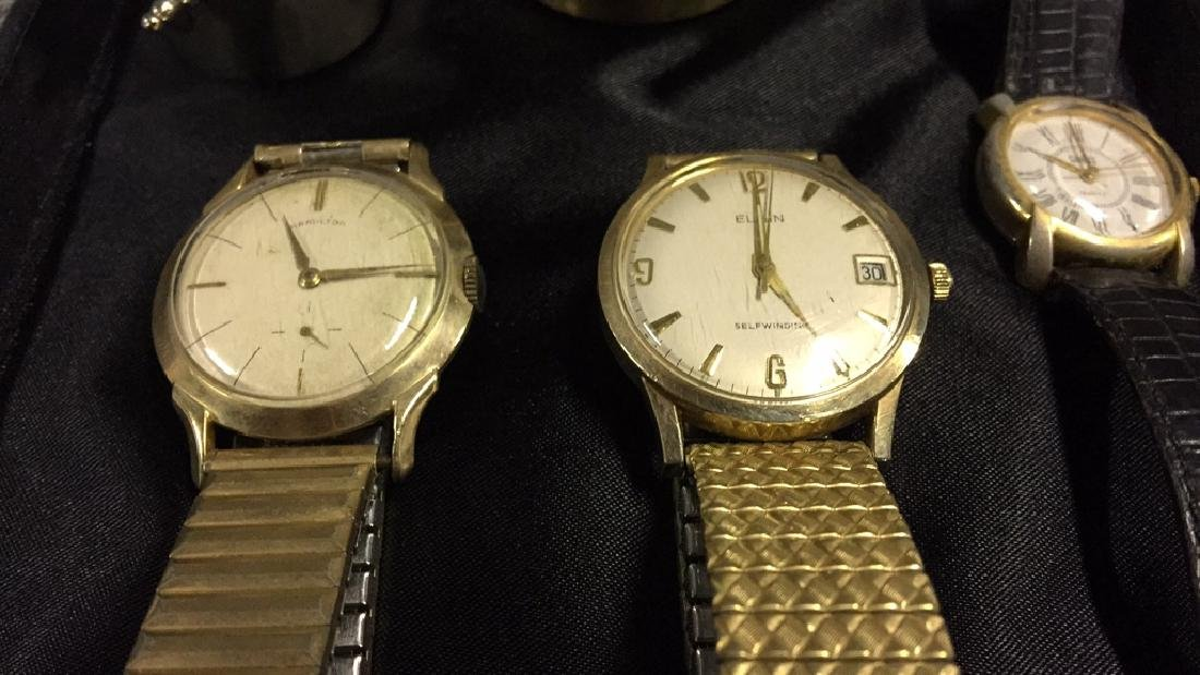 Hamilton & Elgin Wristwatches and Collectibles - 3