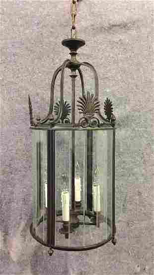Metal Hanging Light Fixture