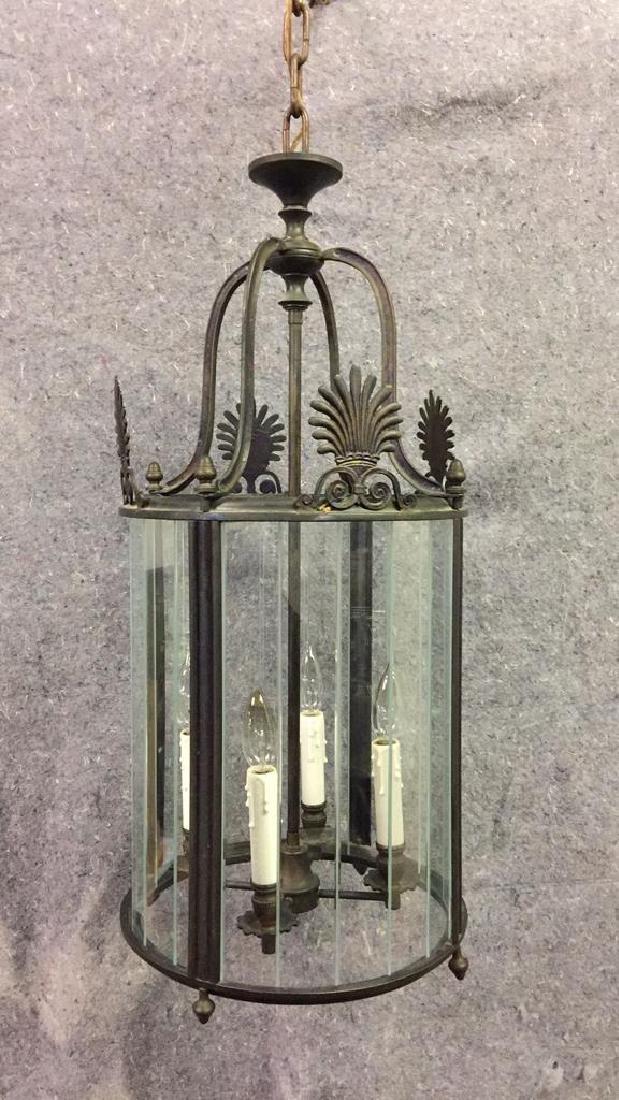 Metal Hanging Light Fixture