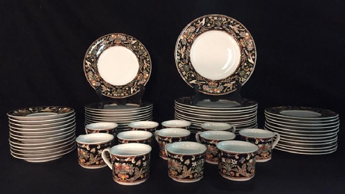 Lot of Floral and Fruit Theme China