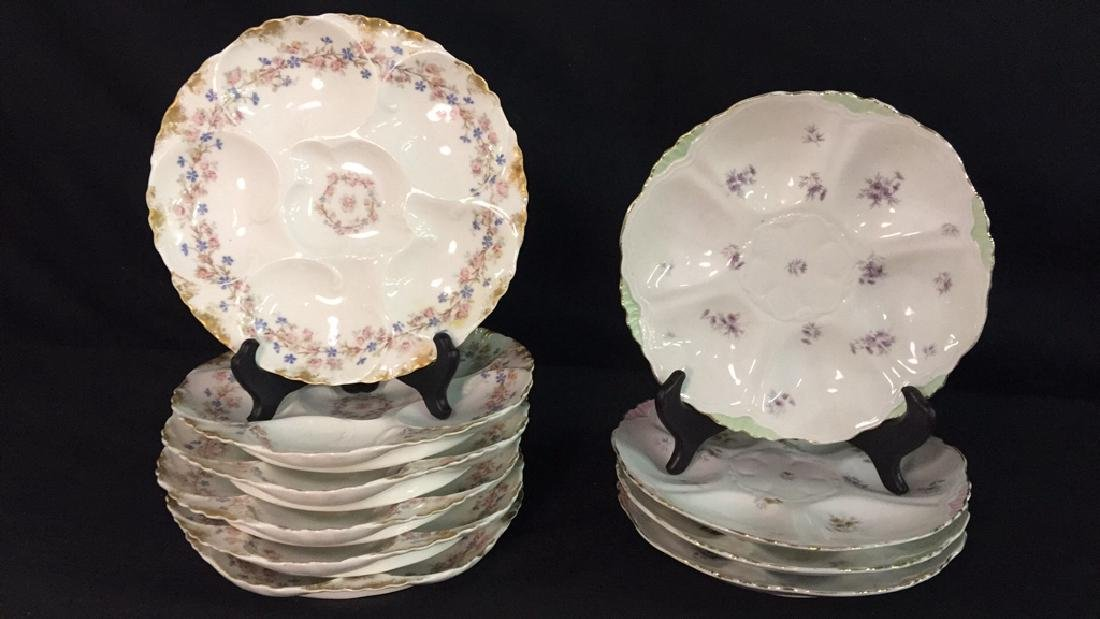 Lot of Antique Appetizer Dishes