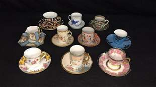 Lot of Fine Cups and Saucers