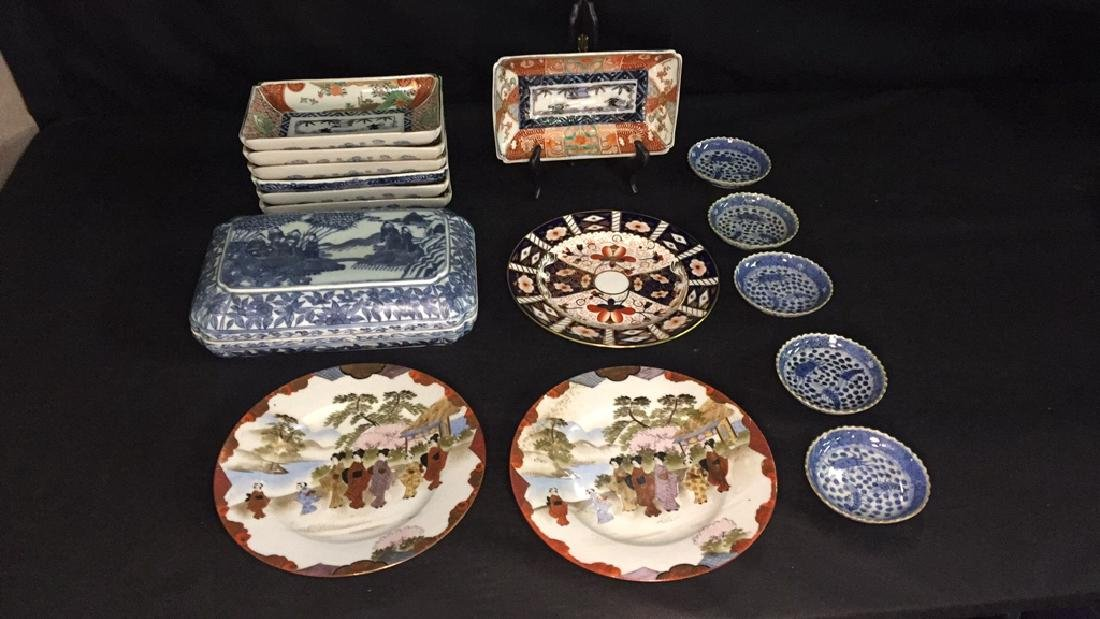 Lot of Asian Porcelain Dishes