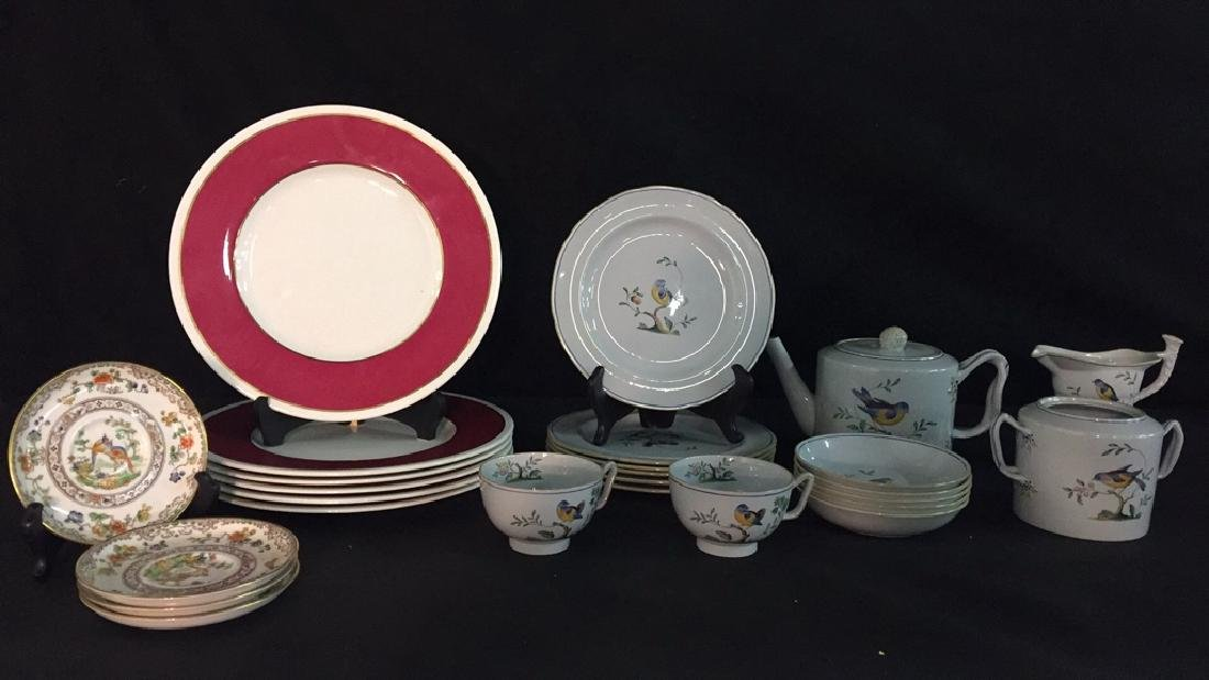 Lot of Copeland Spode Dishes