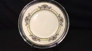 Lenox Golden Gate Plate in Sterling Rim