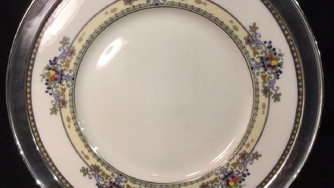 Lenox Golden Gate Plate in Sterling Rim - 2