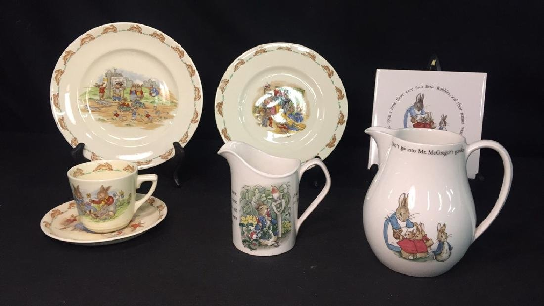 Lot of Beatrix Potter & Bunnykins Collectibles