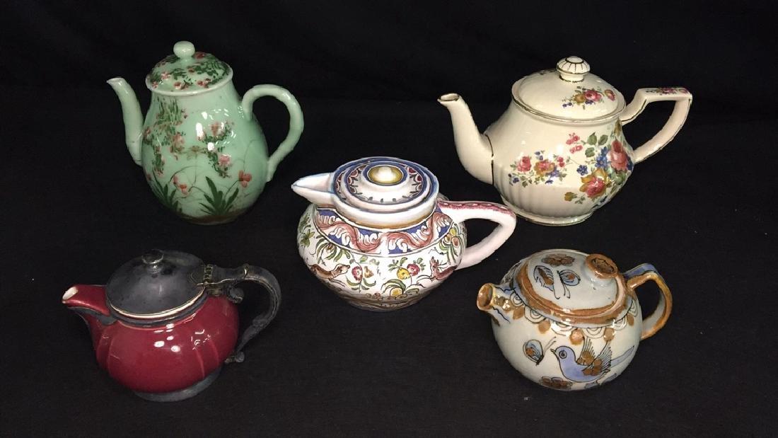Lot of Fine Tea Pots