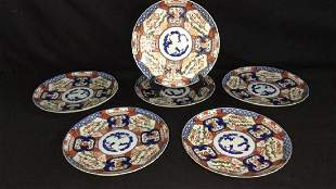 Lot of 6 Chinese Export Plates