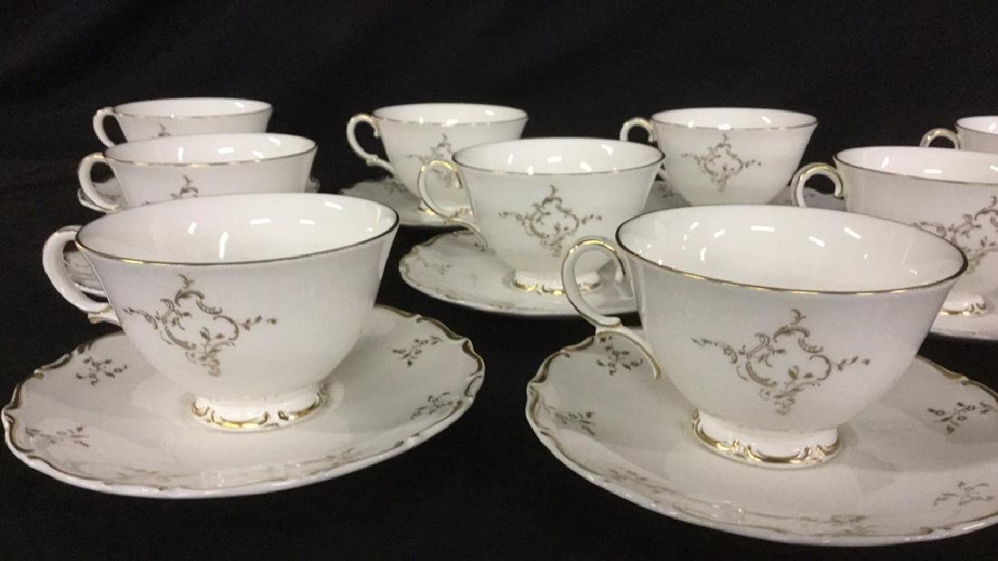 Set of 12 Royal Doulton Cups and Saucers - 2