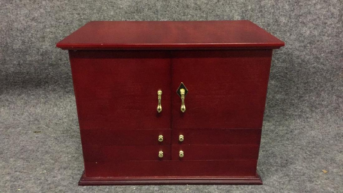 Two Jewelry Cabinets