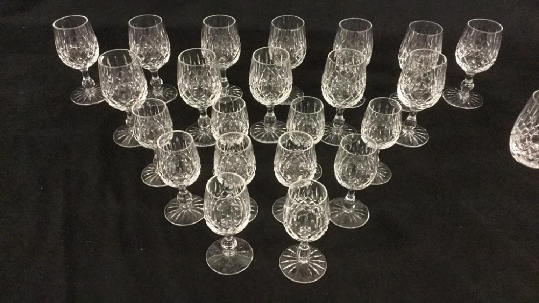 Lot of Webb Corbett Crystal glasses - 2