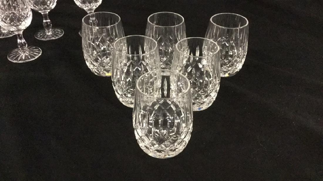 Lot of Webb Corbett Crystal glasses - 3