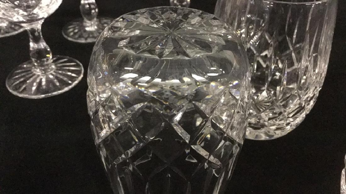 Lot of Webb Corbett Crystal glasses - 4