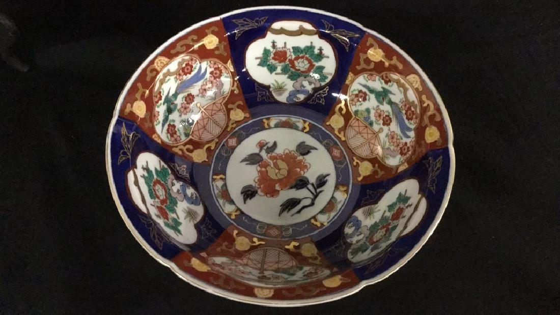 4 Pcs. Gold Imari Hand Painted Collectibles - 5