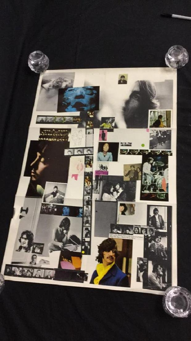 """The Beatles 1968 """"White Album"""" promotional poster"""