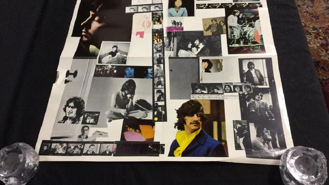 """The Beatles 1968 """"White Album"""" promotional poster - 2"""