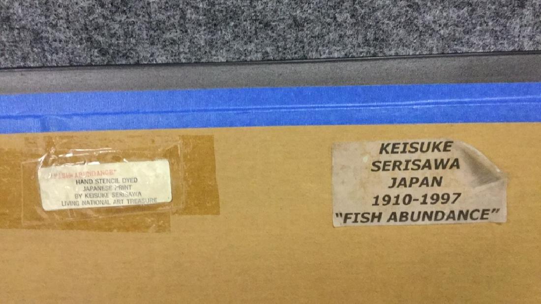 """""""Fish Abundance"""" dyed print by Keisuke Serisawa - 3"""