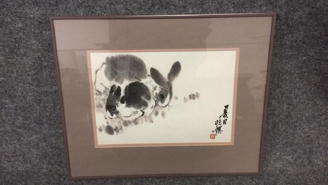 Asian inking of rabbits