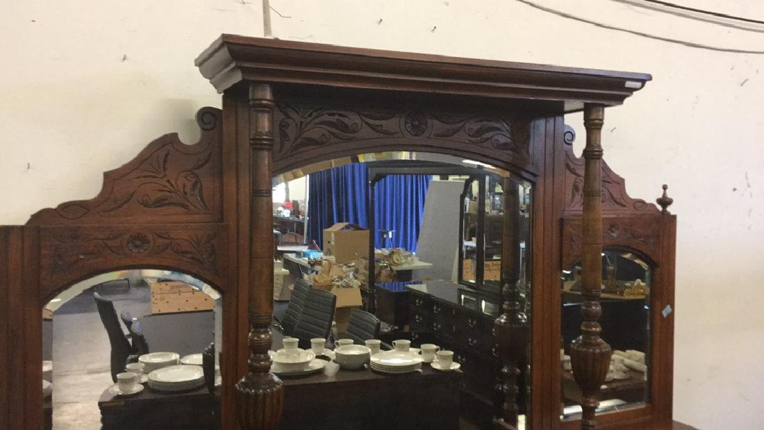 Large mirrored sideboard - 3