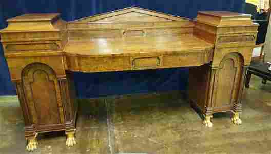 English Empire Revival Sideboard