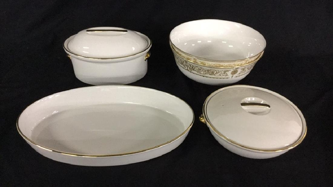 Lot of Royal Worcester Serving Pieces