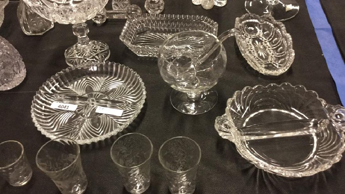 Large Lot of glassware and Crystal - 3