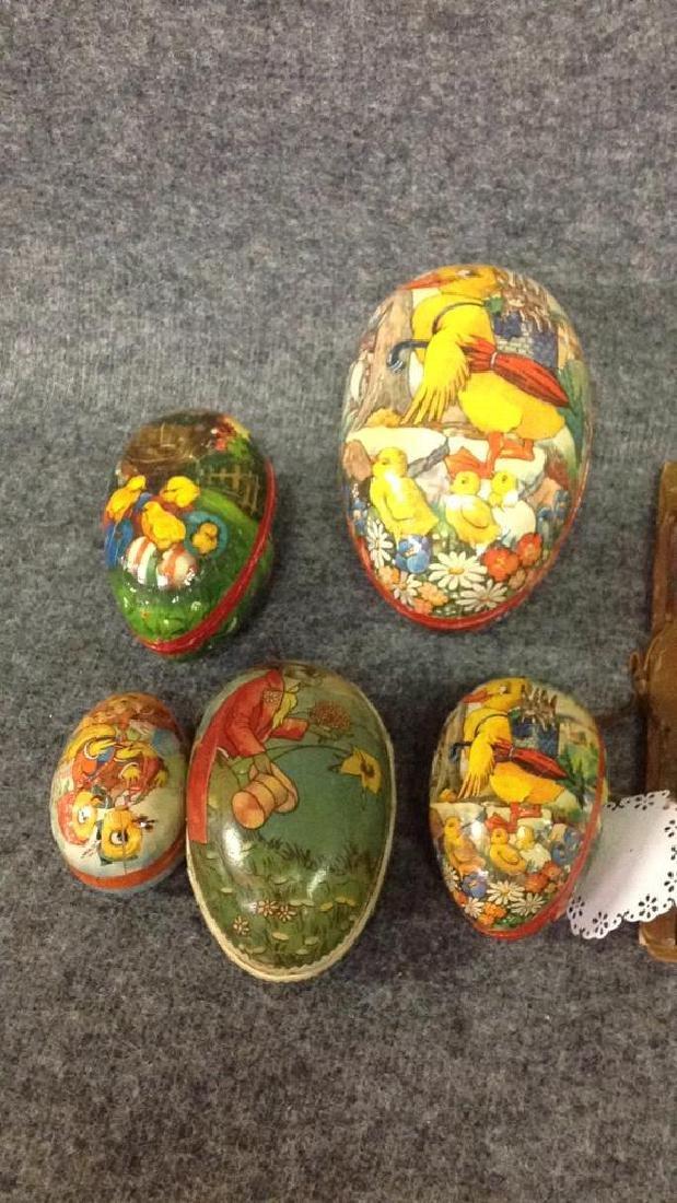 Lot of  figurines & vintage Nesting eggs - 3