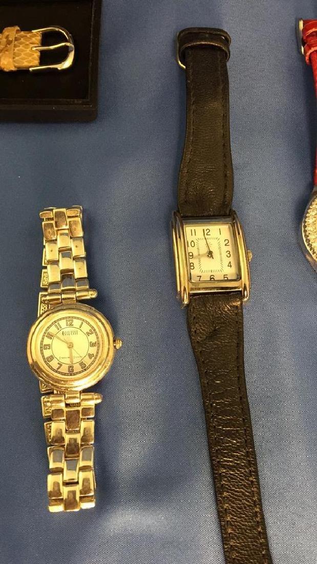 Lot of ladies wrist watches - 4