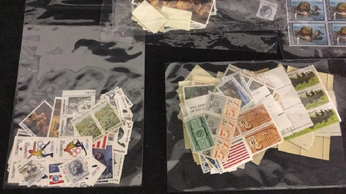 Lot of stamps, Kennedy 5c and more - 5