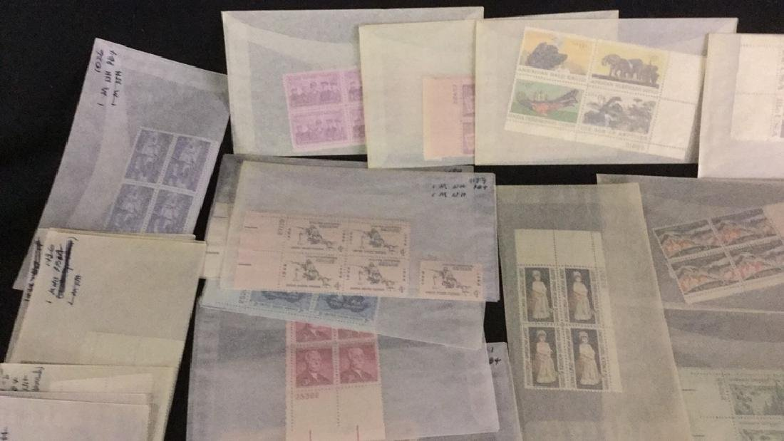 Large Lot of unused stamps - 5