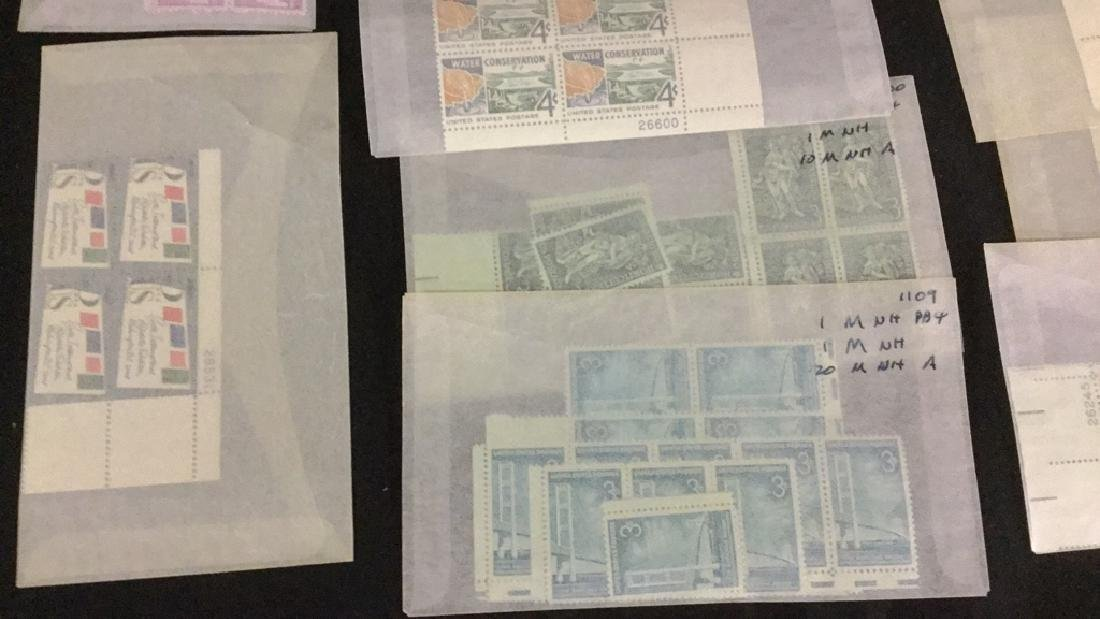 Large Lot of unused stamps - 7