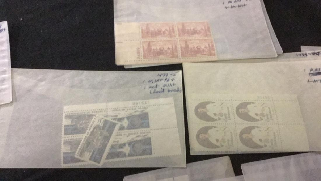 Large Lot of unused stamps - 8