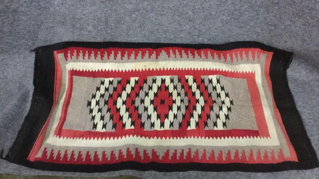 Navajo style entry rug