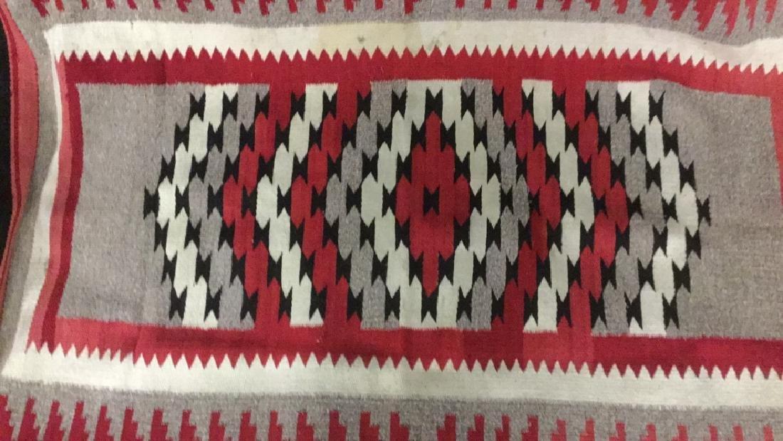 Navajo style entry rug - 2